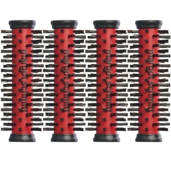 4-er Set: Traumrollen ROT 30x90 mm, für Haarlänge bis 8 cm